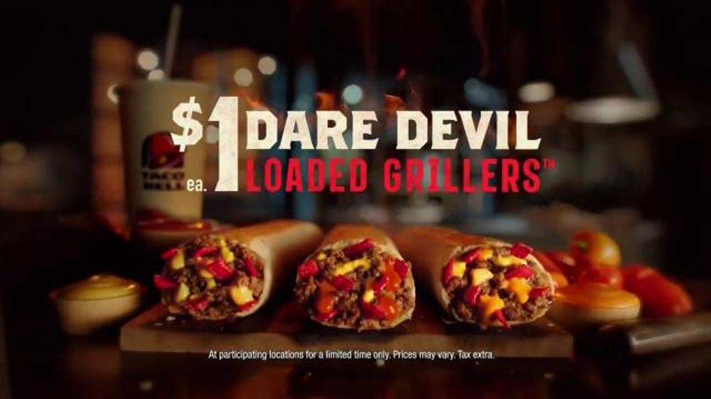 Taco Bell Dare Devil Loaded Grillers TV Spot, 'I Dare You' thumbnail