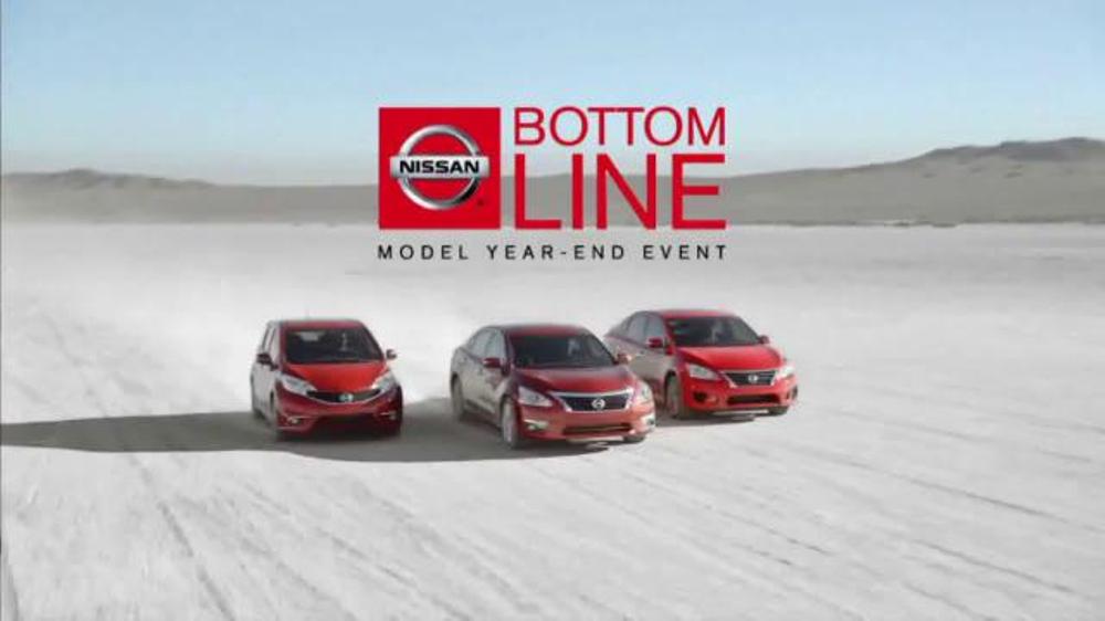 Nissan Bottom Line Model Year-End Event TV Spot, 'Good Look'