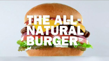 Carl's Jr. All-Natural Burger TV Spot, 'Speaks for Itself'