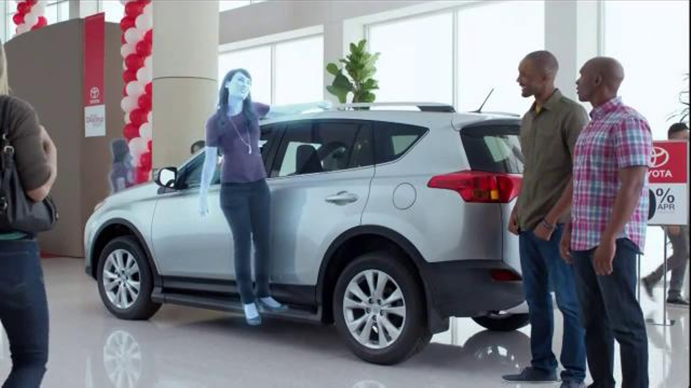 Toyota Annual Clearance Event Tv Spot Hologram 17