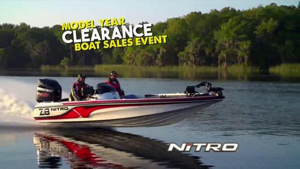 Bass pro shops end of season clearance tv spot 39 fishing for Bass pro shop fishing kayaks
