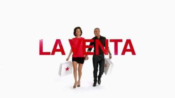 Macy's La Venta de un Día TV Spot, 'Ahorros de agosto' [Spanish] thumbnail