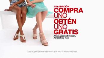 Macy's Venta de un Día TV Spot, 'Joyería, zapatos y ropa de cama' [Spanish] thumbnail