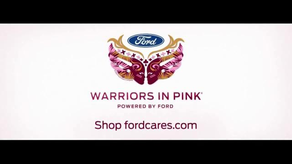 ford warriors in pink tv commercial 39 models of courage. Cars Review. Best American Auto & Cars Review