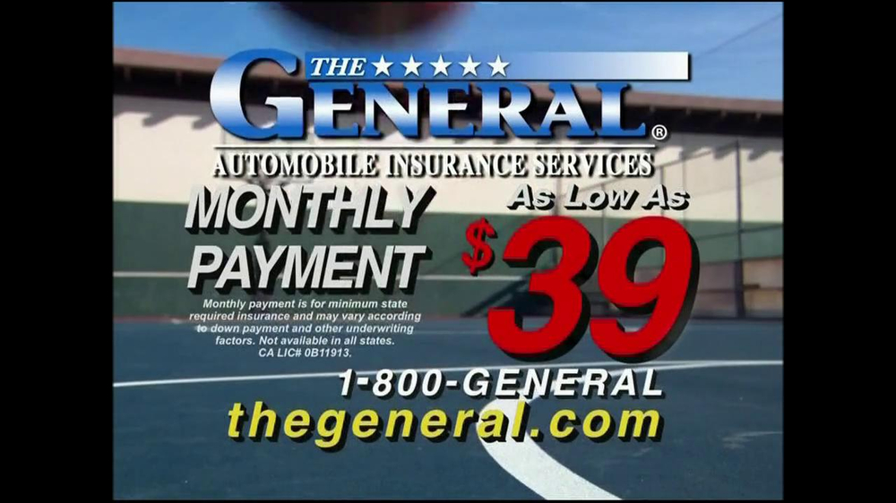 The General Car Insurance: The General TV Commercial, 'Slam Dunk'