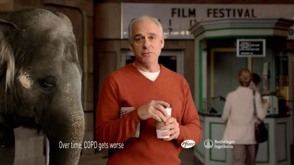 Spiriva TV Spot For COPD With Elephant - Screenshot 10