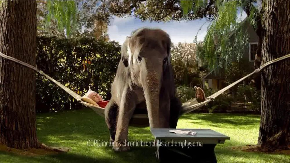 Spiriva TV Spot For COPD With Elephant - Screenshot 2