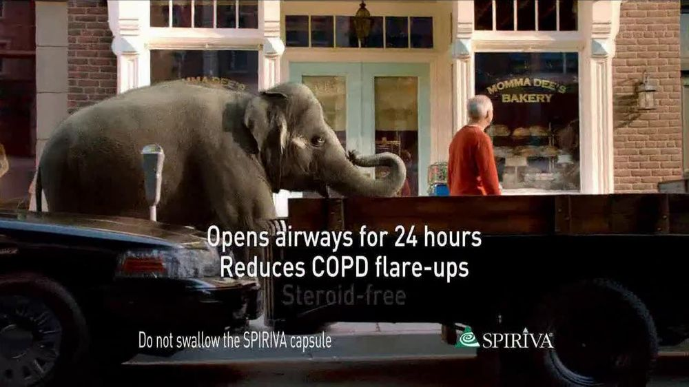 Spiriva TV Spot For COPD With Elephant - Screenshot 5
