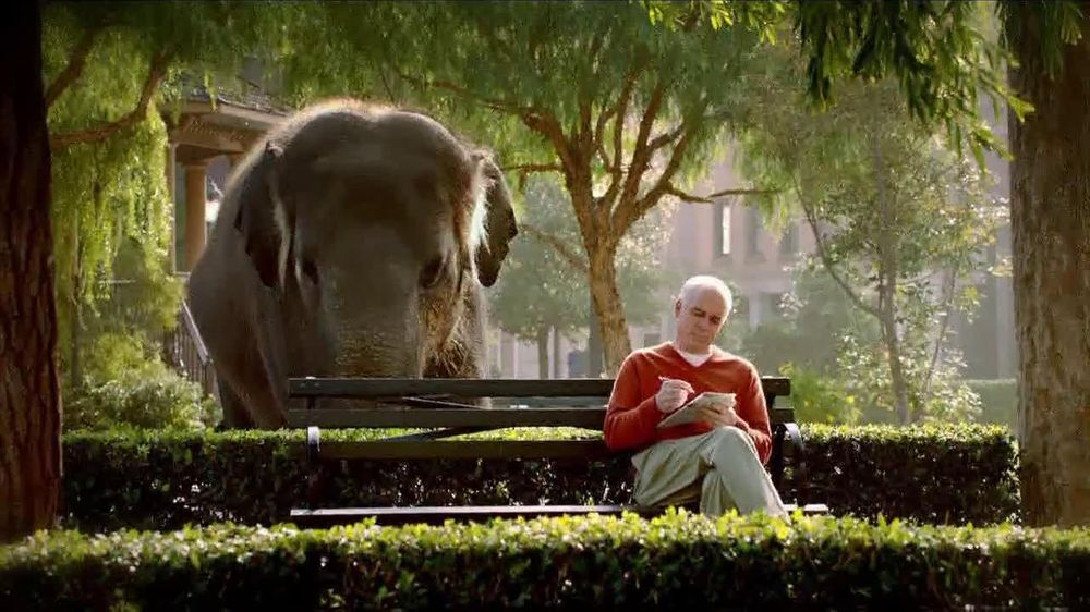 Spiriva TV Spot For COPD With Elephant - Screenshot 7