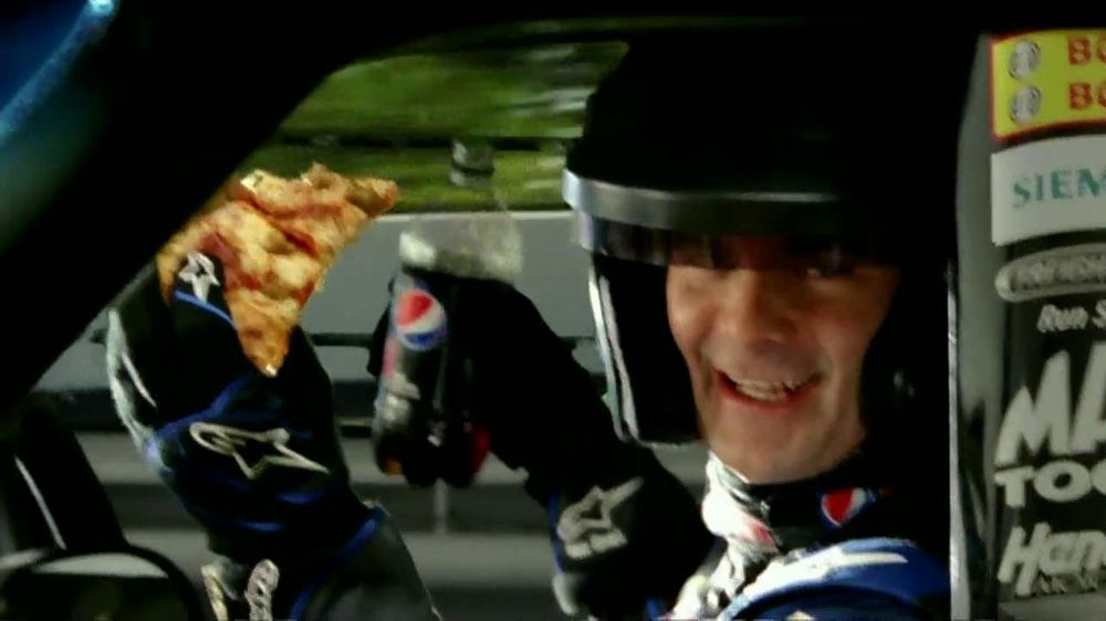 Papa John's TV Spot For Pepsi Max Featuring Jeff Gordon - Screenshot 3