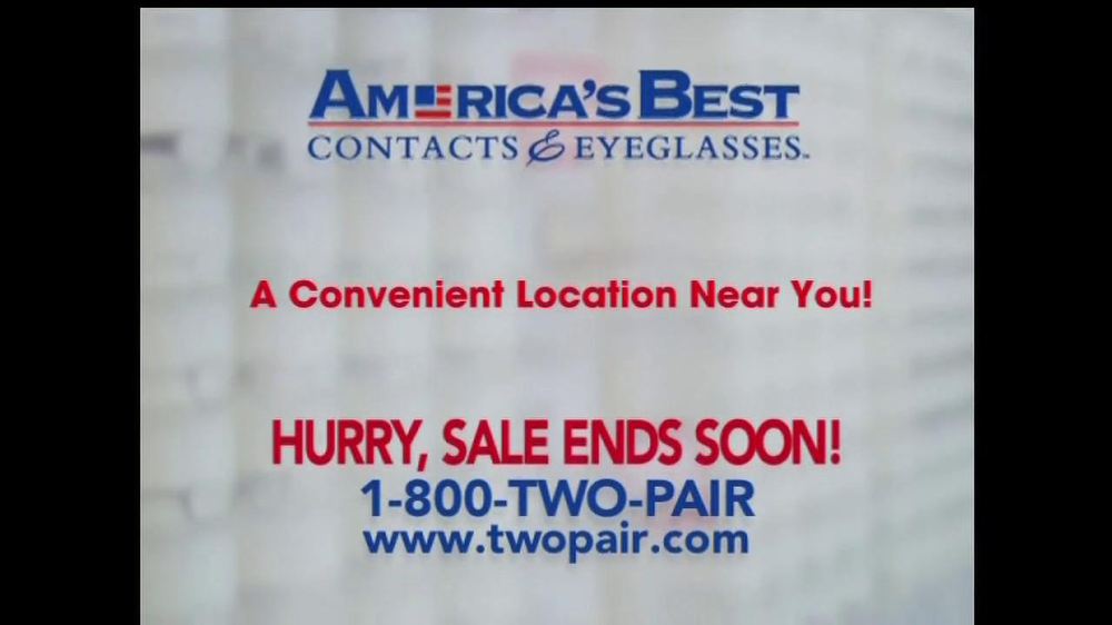 America's Best Contacts and Eyeglasses TV Spot For  Designer Sale - Screenshot 8