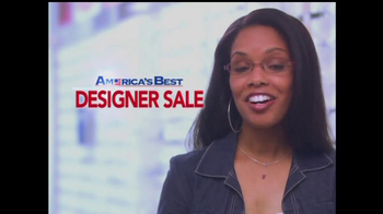 America's Best Contacts and Eyeglasses TV Spot For  Designer Sale - Thumbnail 7