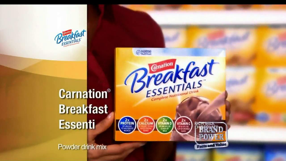Carnation Breakfast Essentials TV Spot For Carnation Breakfast Essentials - Screenshot 7