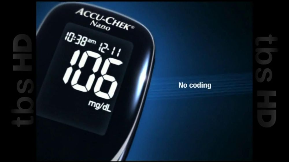 Accu Chek Tv Commercial For Nano Blood Glucose Monitoring