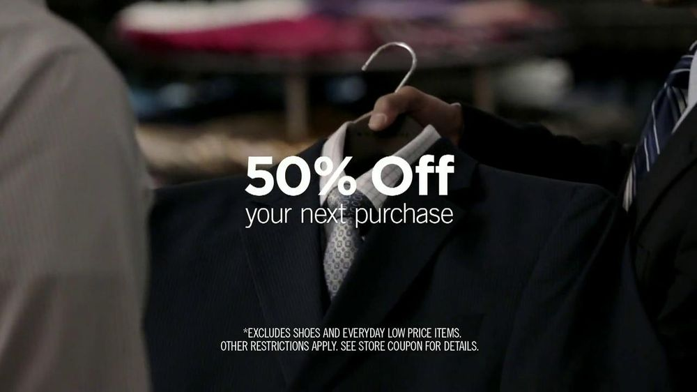 Men's Wearhouse National Suit Drive TV Spot featuring George Zimmer - Screenshot 4
