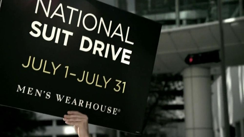Men's Wearhouse National Suit Drive TV Spot featuring George Zimmer - Screenshot 6