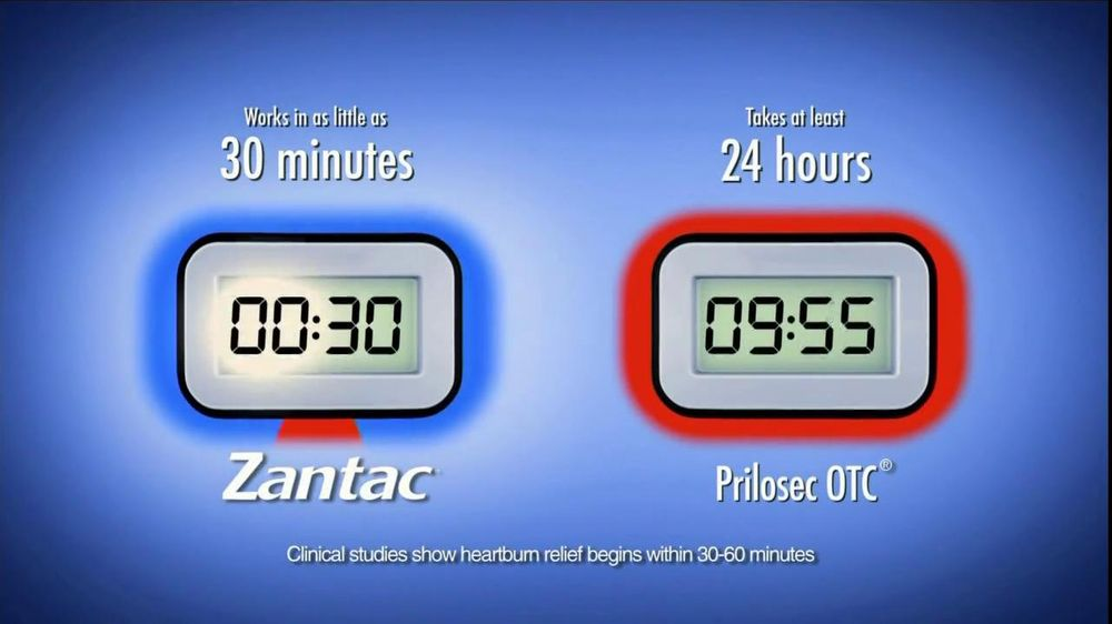 Zantac TV Spot, 'MediFacts: Zantac vs. Prilosec OTC' - Screenshot 5