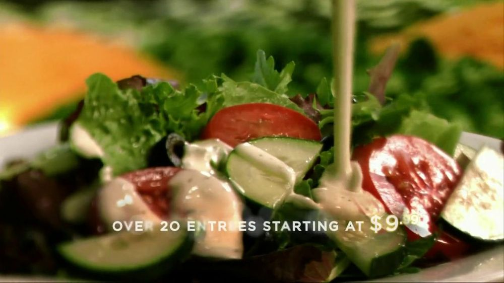 Ruby tuesday tv commercial for new ruby tuesday - Ruby tuesday garden bar and grill ...