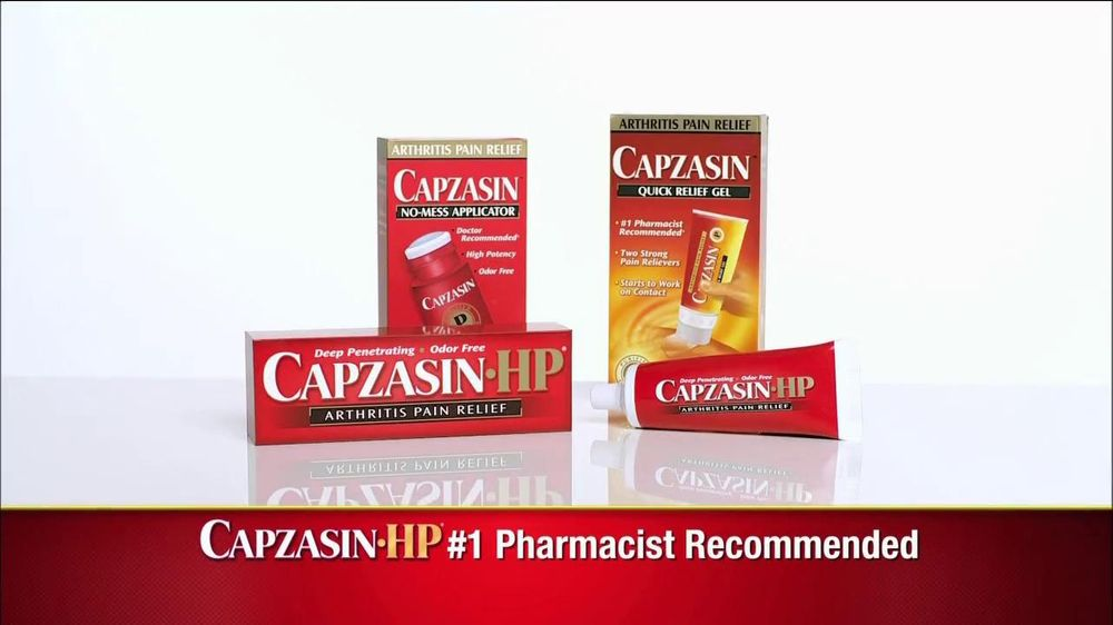 Capzasin TV Spot, 'Arthritis' - Screenshot 5