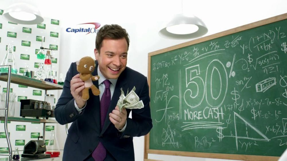 Capital One TV Spot, 'Baby and Bear' Featuring Jimmy Fallon - Screenshot 3