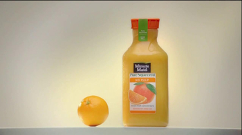 Minute Maid Pure Squeezed TV Spot 'Jealous Orange' Featuring Ty Burrell - Thumbnail 2