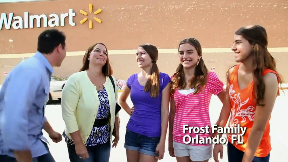 Walmart TV Spot For Walmart Wireless Frost Family - Screenshot 2