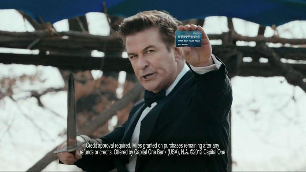 Capital One TV Spot, 'Battle Speech' Featuring Alec Baldwin ...