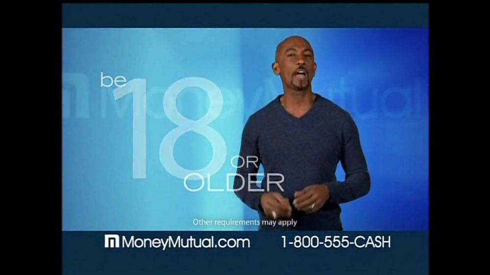 Money Mutual TV Commercial For Using Tools Featuring Montell Williams
