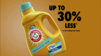 Arm and Hammer TV Spot For Sensitive Skin Detergent
