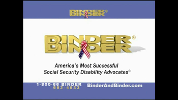 Binder and Binder TV Spot For Disability