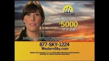 Western Sky Financial  TV Spot, '$5,000 By Tomorrow' thumbnail