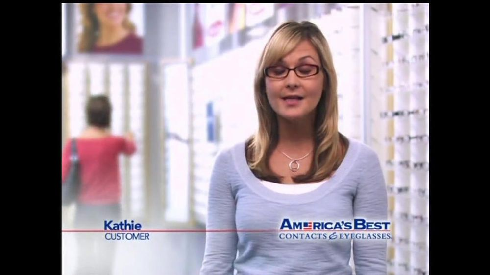 America's Best Contacts and Eyeglasses TV Spot For Two Pairs of Glasses  - Screenshot 1