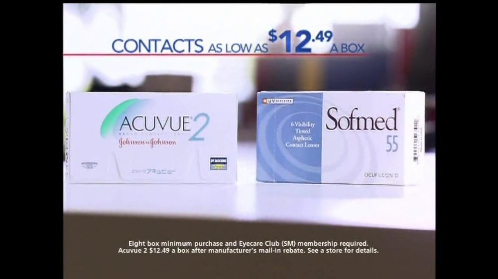 America's Best Contacts and Eyeglasses TV Spot For Two Pairs of Glasses  - Screenshot 4
