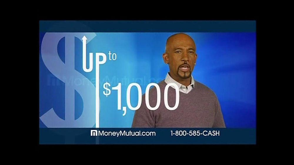 Money Mutual TV Spot For Short Term Cash Featuring Montel Williams