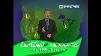 Englert Leaf Guard TV Spot For Weather Report
