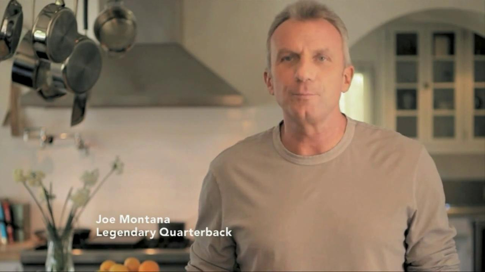 Joint Juice TV Spot Featuring Joe Montana - Screenshot 1