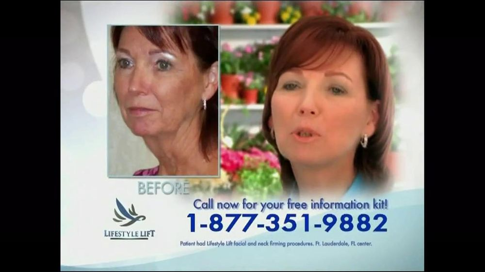 Lifestyle lift tv spot medical procedures featuring debby boone