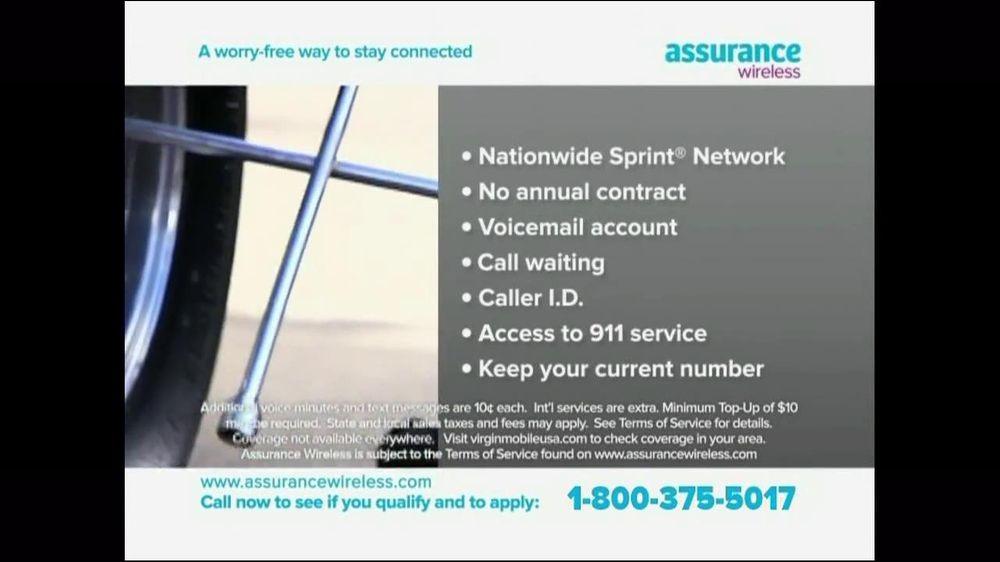 assurance wireless tv commercial for phone plans. Black Bedroom Furniture Sets. Home Design Ideas