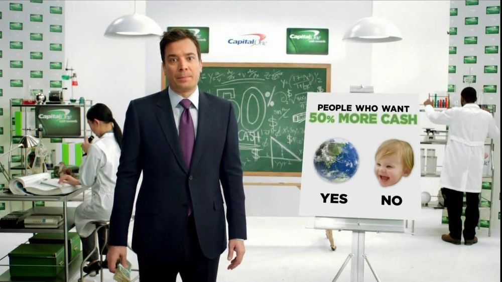 Capital One Cash Rewards, 'Baby Bear' Featuring Jimmy Fallon - Screenshot 3