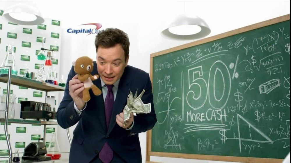 Capital One Cash Rewards, 'Baby Bear' Featuring Jimmy Fallon - Screenshot 4