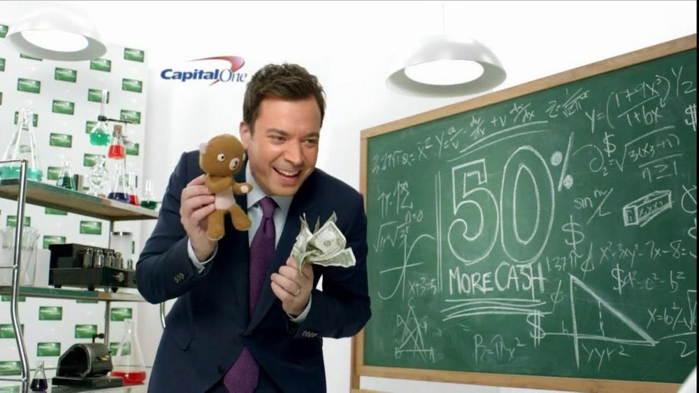 Capital One Cash Rewards, 'Baby Bear' Featuring Jimmy Fallon - Screenshot 5