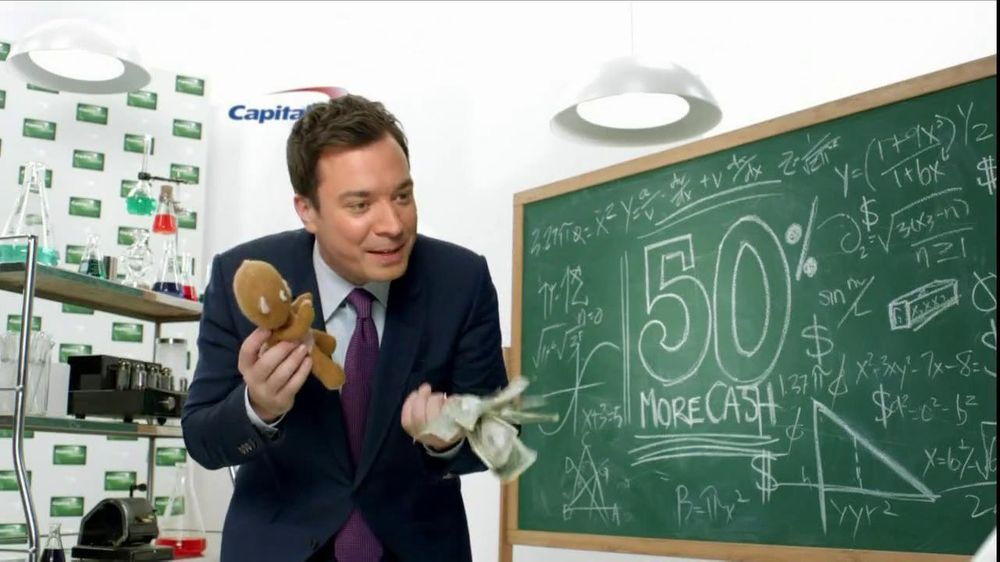 Capital One Cash Rewards, 'Baby Bear' Featuring Jimmy Fallon - Screenshot 6
