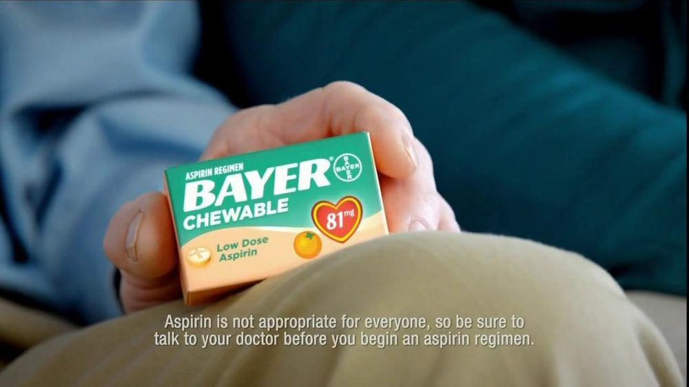Bayer TV Spot For Aspirin Regimen Chewable - Screenshot 5