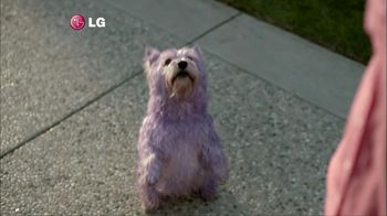 LG Electronics Washer TV Spot, 'Purple Dog'