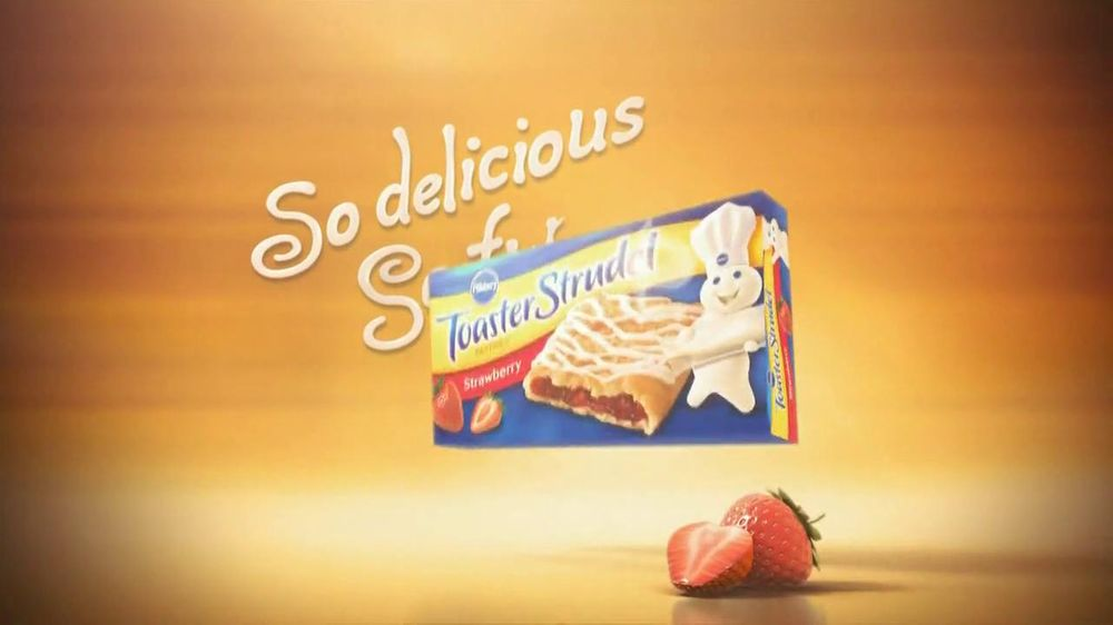 Pillsbury Toaster Strudels TV Spot, 'Strudelmorphosis' - Screenshot 7
