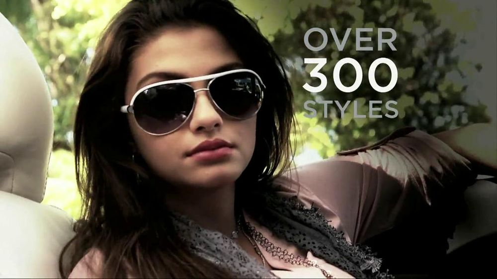 bfcdddf sunglasses commercial actress