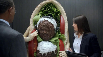 Orbit TV Spot, 'Falafel Elevator'