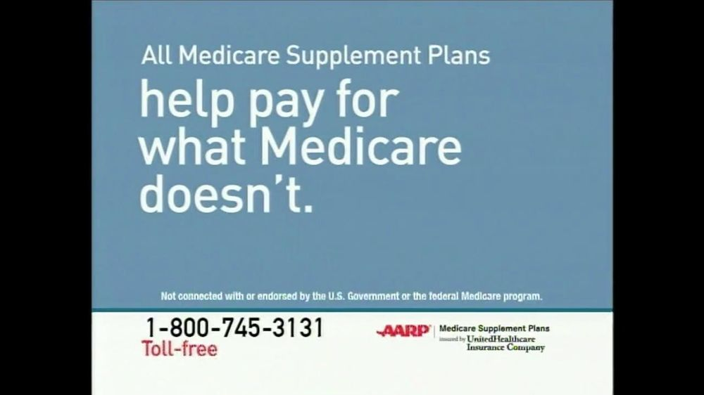 UnitedHealthcareAARP Medicare Supplement Plans TV Spot, 'We Can Help' - Screenshot 4
