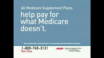 AARP Medicare Supplement Plans TV Spot