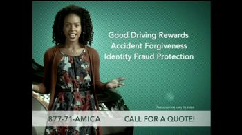 Amica Mutual Insurance Company TV Spot For Car Insurance